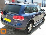 Рейлинги на крышу для Volkswagen Touareg алюминиевые Crown (Туарег)