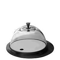 Круглая подставка с крышкой Casa Bugatti GLNU-02152 ,цвет черный