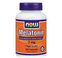 Мелатонин NOW Melatonin 3mg (180 caps)