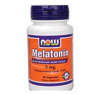 Мелатонин NOW Melatonin 3mg (60 caps)