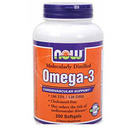 Рыбий жир NOW Omega-3 1000 mg (100 gels)