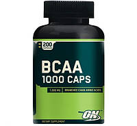 БЦА Optimum Nutrition BCAA 1000 Caps (200 caps)