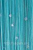 Шторы кисея со стеклярусомСО23