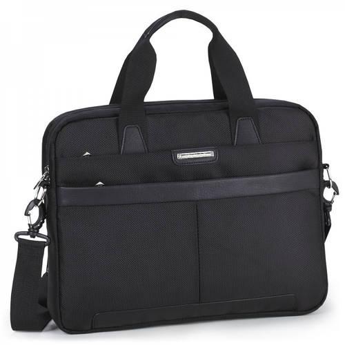 Функциональная молодежная сумка  для планшета/ноутбука,  Dolly (Долли) 630 черный