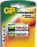 Аккумулятор GP пальчиковый 1800 мАч R6 AA (NiMH) цена за 1 шт