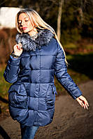 Х7065 Куртка-пальто пуховик зима