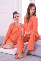 Ночная сорочка для беременных и кормящих женщин с длинным рукавом Anita