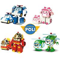 Поли Робокар Машина Трансформер (Robocar Poli) 4вида в коробочках