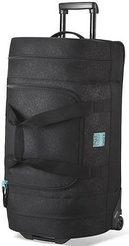Дорожная сумка на колесах Dakine Womens Duffle Roller 58L Lattice Floral 610934899917 черная