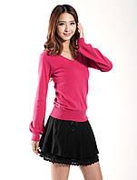 Женский кашемировый пуловер в разных расцветках