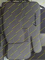 Текстильные коврики в салон на  Daewoo Lanos (Деу Ланос)