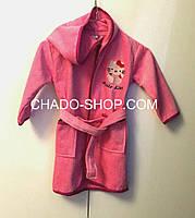 Детский махровый халат Китти