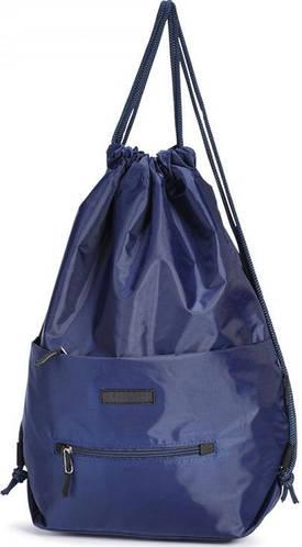 Удобный молодежный  рюкзак-мешок, Dolly (Долли) 834 синий