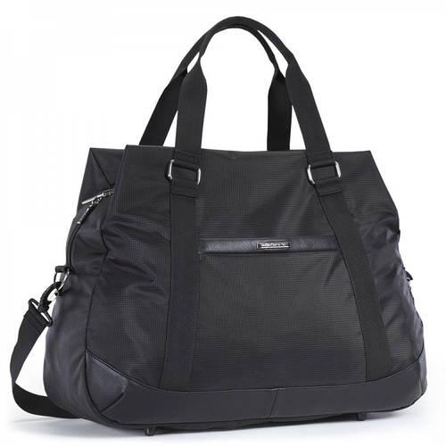 Удобная мужская дорожная сумка 47 л. Dolly (Долли) 776 черный