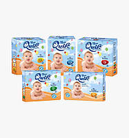 Памперсы Quik Baby Extralarge (15-30кг) размер 6 (Италия)