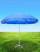Круглый пляжный зонт