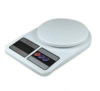 Кухонные электронные весы, модель SF 400 , 7/10кг, плоский корпус, 2хАА