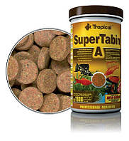 Корм для рыб и водных черепах Tropical SuperTabin A,  250мл