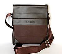Современная мужская сумка коричневого цвета (EF)