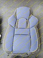 """Универсальные чехлы на сидения Пилот """"Pilot Vip"""" Темно-синий"""
