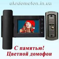 Комплект видеодомофона PC-437R0 с HD видеопанелью (PC-668H)