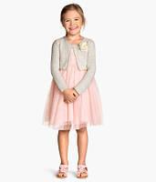 Нарядной платье  розовое для девочки HM
