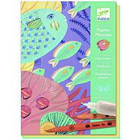 Набор для рисования кистями Под водой Djeco DJ08647