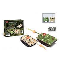 2 танка на радиоуправлении танковый бой ZYB-B 0491
