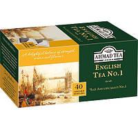 Чай в пакетиках Черный Английский №1 Ahmad 40 пак