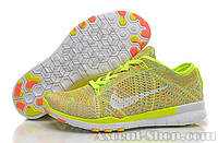 Nike Free TR Fit Flyknit Yellow
