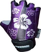 Велоперчатки для детей  FREERIDE LISA Фиолетовый