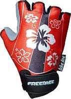 Велоперчатки для детей  FREERIDE LISA Красный
