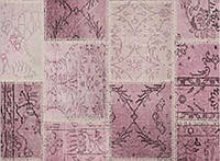 Ковер Петчворк розовый 120х180 см