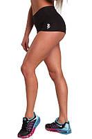 Женские шорты для бега из полиэстера Berserk Sport черный