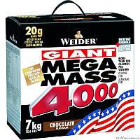 Weider Mega Mass 4000 7 кг гейнер