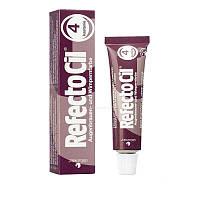 RefectoCil — краска для бровей и ресниц (каштановая), 15мл