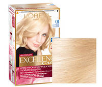 Краска для волос loreal excellence 01 Супер-осветляющий русый натуральный