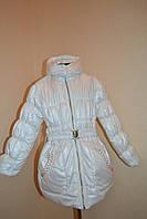 теплая весенне-осенняя демисезон  куртка на девочку