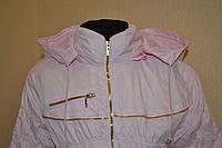 Куртка  демисезонная розовая на девочку ветровка