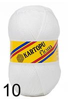 Kartopu Flora - 10 белый