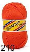 Kartopu Flora - 210 оранжевый