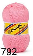 Kartopu Flora - 792 светло-розовый