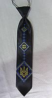 Детский галстук с вышивкой