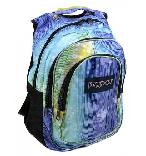 Молодежный городской рюкзак 28 л. Jansport 3333-10 фиолетовый