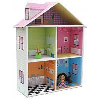 """Krooom Картонный 3D-игровой набор """"Кукольный дом Мелроуз"""""""