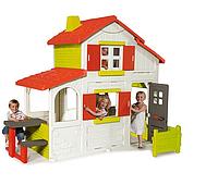 Детский игровой двухэтажный домик Smoby Duplex 2