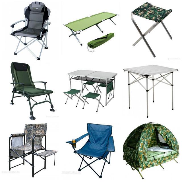 Мебель для пикника, туризма, рыбалки