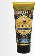 Медовый массаж антицеллюлитный Сибирский мед и можжевеловое масло ТСА для бани