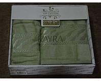 Набор велюровых полотенец Cestepe VIP Cotton 2шт.