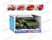 Инерционная машинка Самосвал M 1357 U/R зеленый Машинка для пополнения коллекции Подарок сыну
